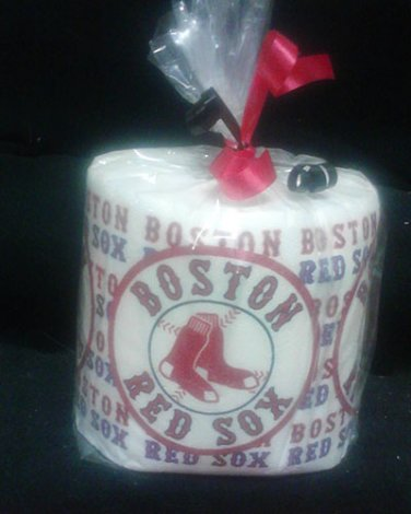 Boston Red Soxs Heat Pressed Toilet Paper