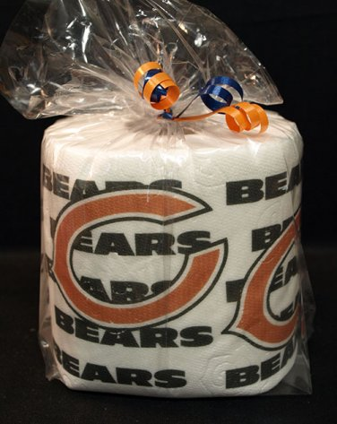 Chicago Bears Heat Pressed Toilet Paper