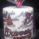 Atlanta Braves Heat Pressed Toilet Paper