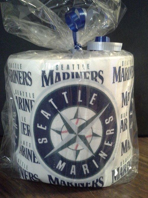 Seattle Mariners Heat Pressed Toilet Paper