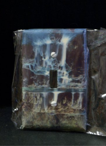 Waterfall Resin Coated Light Switch Cover