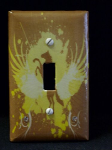 Horse Resin Coated Light Switch Cover