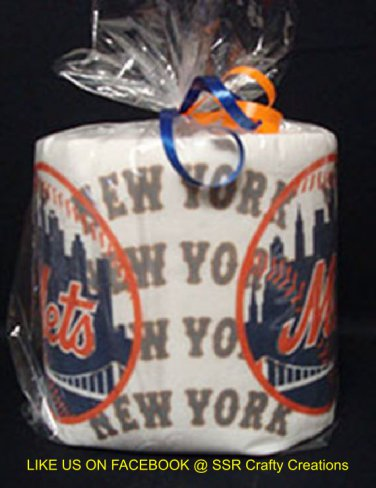 New York Mets Heat Pressed Toilet Paper