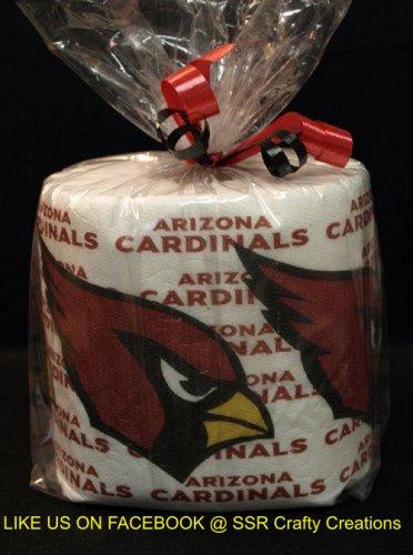 Arizona Cardinals Heat Pressed Toilet Paper