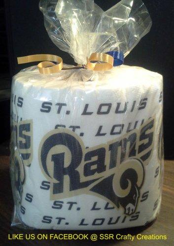 St. Louis Rams Heat Pressed Toilet Paper