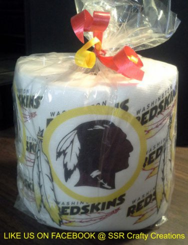 Washington Redskins Heat Pressed Toilet Paper