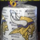 Minnesota Vikings Heat Pressed Toilet Paper