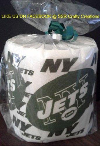 NY Jets Heat Pressed Toilet Paper
