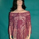 Jungle Rose Poncho Pattern by Cindy Kamps