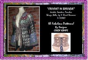 CROCHET in BAROQUE 18 fabulous Crochet Patterns!