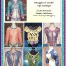 PARTY in PINEAPPLES Patterns! 12 Tops & Shrug Styles!
