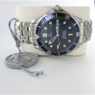 GENTS OMEGA SEAMASTER PROFESSIONAL BLUE WAVE DIAL 300 METERS STEEL DIVERS WATCH