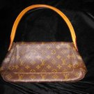 LOUIS VUITTON AUTHENTIC LOOPING MONOGRAM HOBO BAG PURSE LEATHER SHOULDER FRANCE