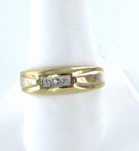 10K SOLID KARAT YELLOW GOLD DIAMOND RING 2.0DWT WEDDING BAND ENGAGEMENT COCKTAIL