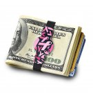 THE GRAND BAND MONEY CLIP GB8230 BC - Breast Cancer Awareness Grand Band