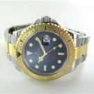 ROLEX 18 YELLOW GOLD + STAILESS STEEL 16623 MEN WATCH YACHT-MASTER WRISTWATCH