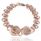 18KGP B012 18K gold plated,plating platinum Bracelet,nickel free,Rhinestone,zicon,crystal