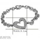 18KGP B031 18K Gold Plated Ring Nickel Free K Golden Plating Platinum Rhinestone Crystal SWA Element