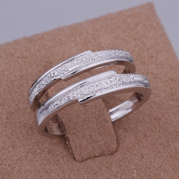 ER020 Platinum Plated Set,gemstone silver Rings,Rings Size Female7-16,Male13-24