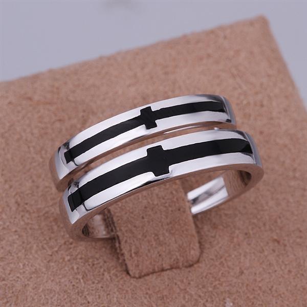 ER021 Platinum Plated Set,gemstone silver Rings,Rings Size Female7-16,Male13-24