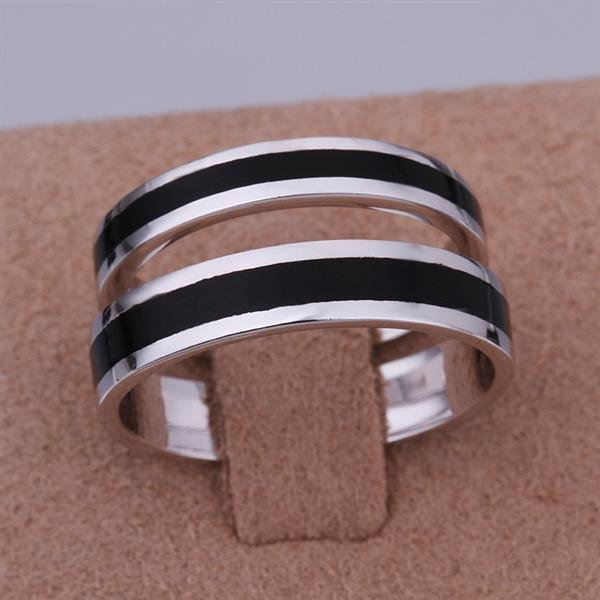 ER026 Platinum Plated Set,gemstone silver Rings,Rings Size Female7-16,Male13-24