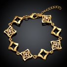 KZCB003 Freeshipping 18K gold plated bracelet, Fashion jewelry, Austrian Crystal