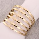 18KGPZ008A Factory Price, Free Shipping Wholesale18k gold platedbangle jewelry for women