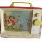 1966 Fisher Price Music Box & TV Toy
