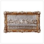 #31738 Last Supper Bas-Relief