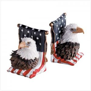 #29193 American Eagle Bookends