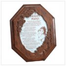 #1932 Child And Parent Prayer Plaque