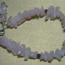 ROSE QUARTZ & GARNET Gemstones Bracelet