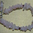 ROSE QUARTZ & GARNET Gemstones Bracelet