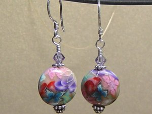 BUTTERFLY II Polymer Clay Earrings - KM