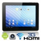 """9.7"""" Capacitive IPS Touch Screen Android 4.0 16GB Tablet PC with HDMI"""