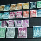 German Scott's # 634-661 A127-131 Type II & perf. 14, full set