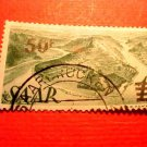 Saar Stamp Scott # 187a A42 Printing 1 Canceled