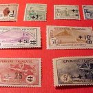 France B12-B19 SP3-8 Sept.1,1922 Complete set
