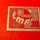 "German Democratic Republic Scott's # 53 A8 ""60th Labor Day"" May 1,1950"