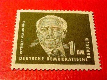 German Democratic Republic Scott's # 56 A10 1m Pres Wilhelm Pieck 1950-51