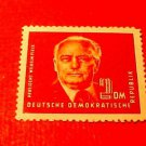 German Democratic Republic Scott's # 57 A10 2m Pres Wilhelm Pieck 1950-51