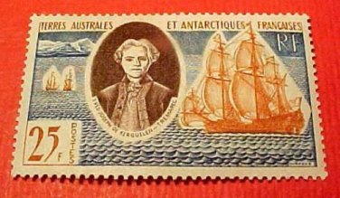 French Southern and Antarctic Territory Scott #20 A7 25fr. Nov.22,1960