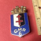 Enameled French Militaire pin by Drago G2424