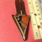 Vintage Enameled French Militaire pin by Drago G2134