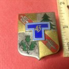Vintage Enameled French Militaire pin by Drago G2125