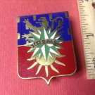 Beautiful Enameled Vintage French Militaire pin by Drago G2931
