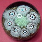 Vintage Beautiful Murano Millefiori Paperweight, #9