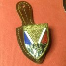 Vintage French Enameled Militaire pin by Drago G157