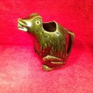 Antique French Frog Pitcher from L'Heritier Guyot of Dijon,France