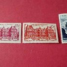 France Scott set #591-3 A 160+174 from 1948